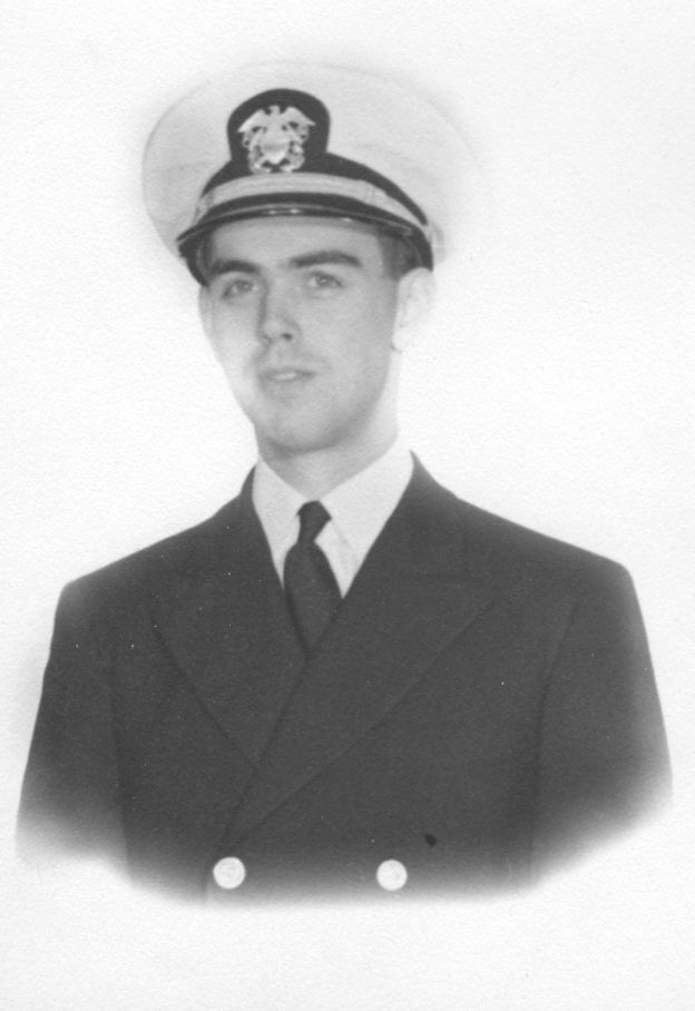 Roy in USN Uniform